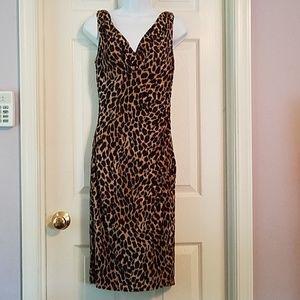 Ralph Lauren leopard print dress